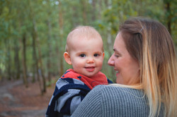 Mother & Son Portraits at Horsell Common