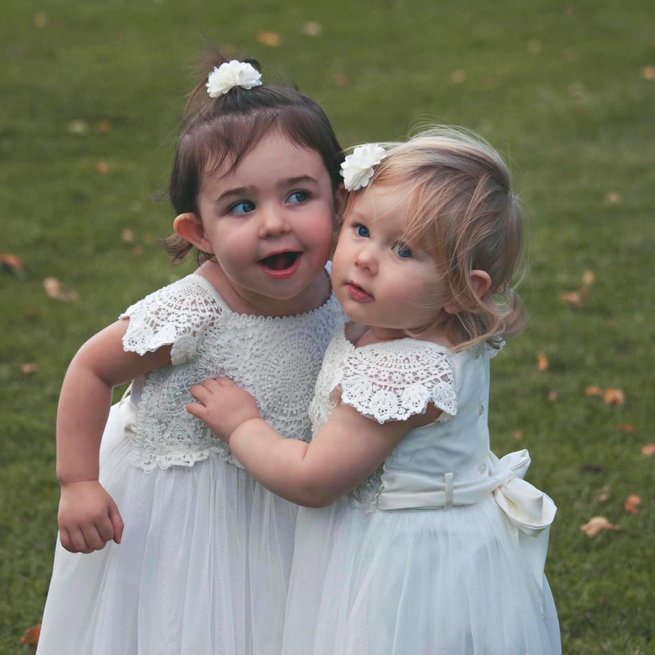 Little Bridesmaids at Surrey Wedding