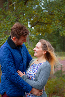 Relaxed Couple Portraits