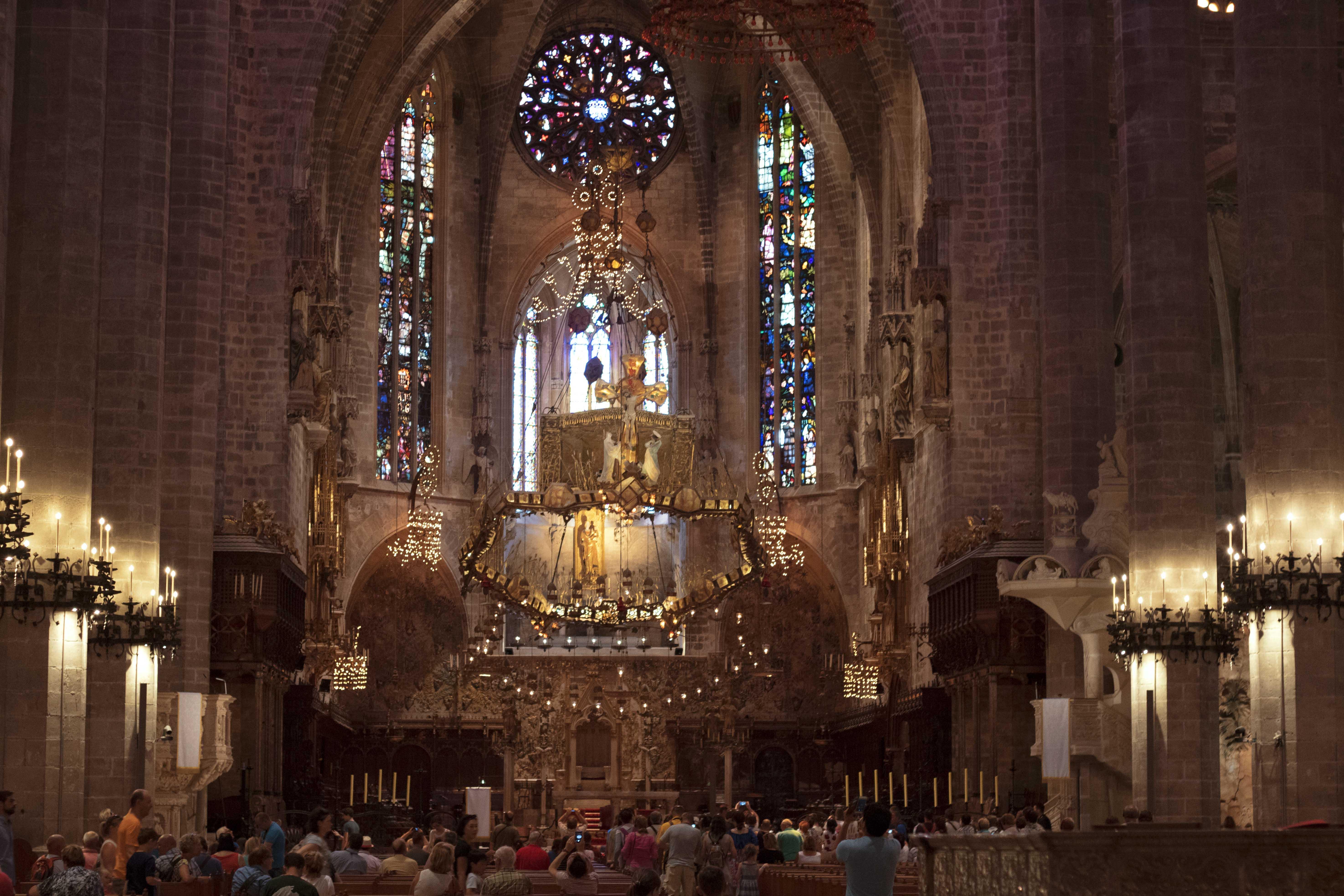 Interior Palma Cathedral