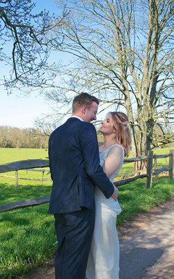 Candid Couple Shots at Surrey Wedding