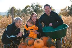 Surrey Pumpkin Family Mini Portraits
