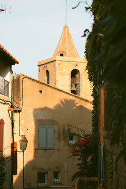 Little town in South of France