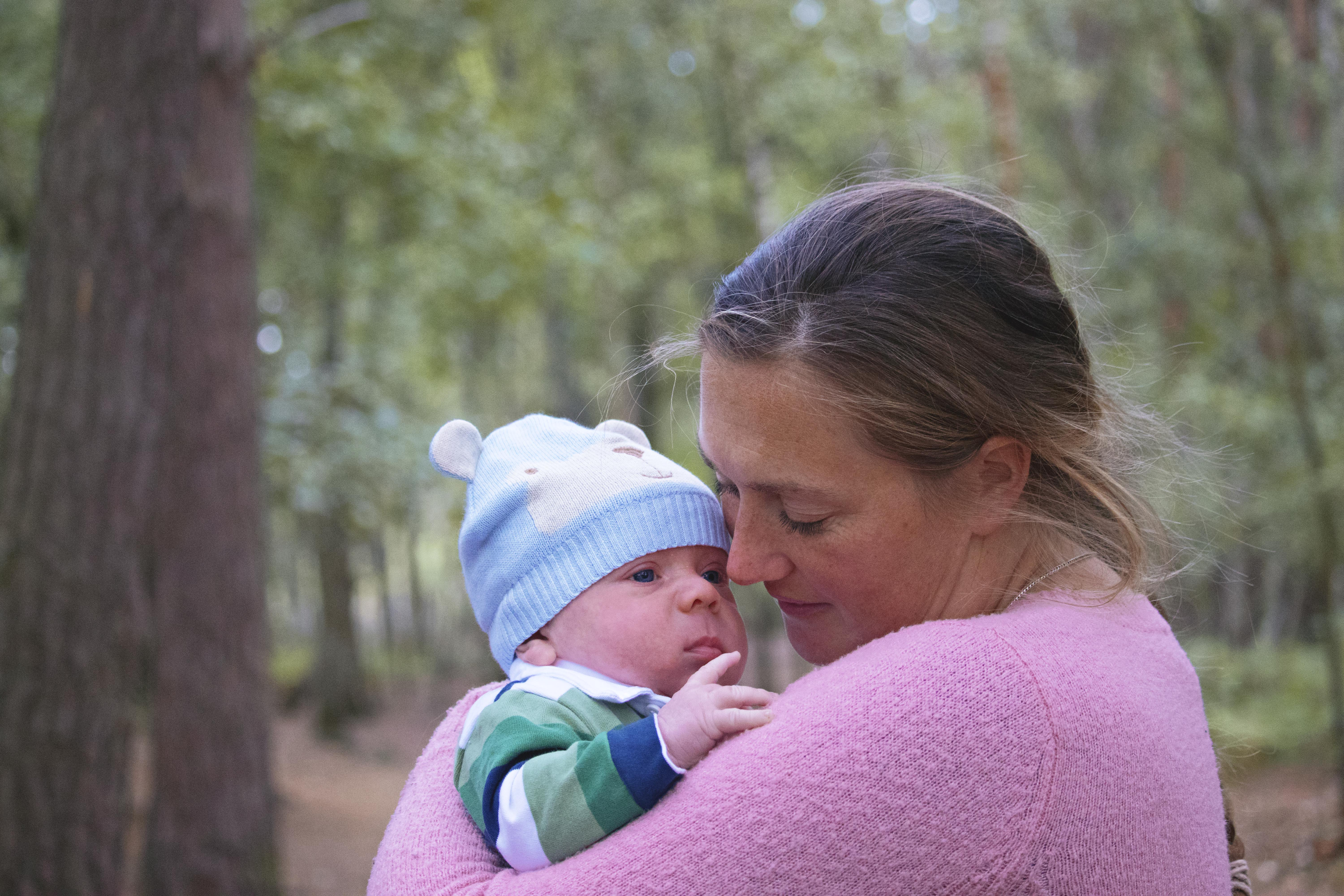 Family Photoshoot at Horsell Common