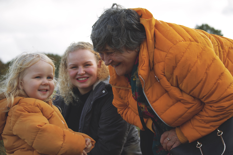 English Pumpkin Picking Family Photos