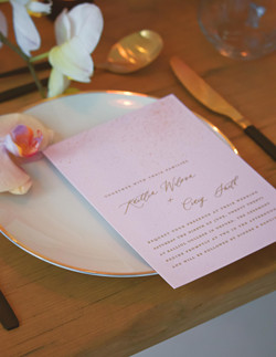 Stylised Shoot with Merrie & Bright Stationery
