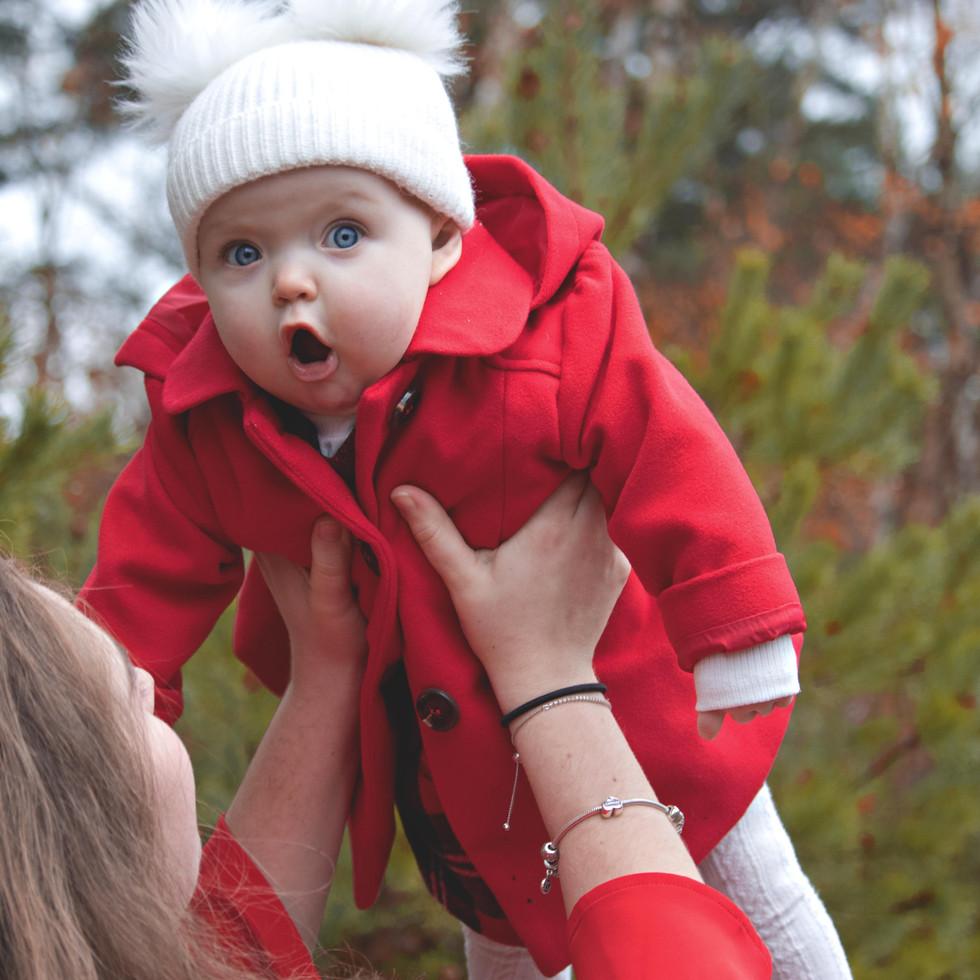 Christmas Mini Photoshoot in Surrey