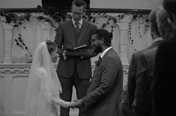 Intimate Church Wedding Somerset