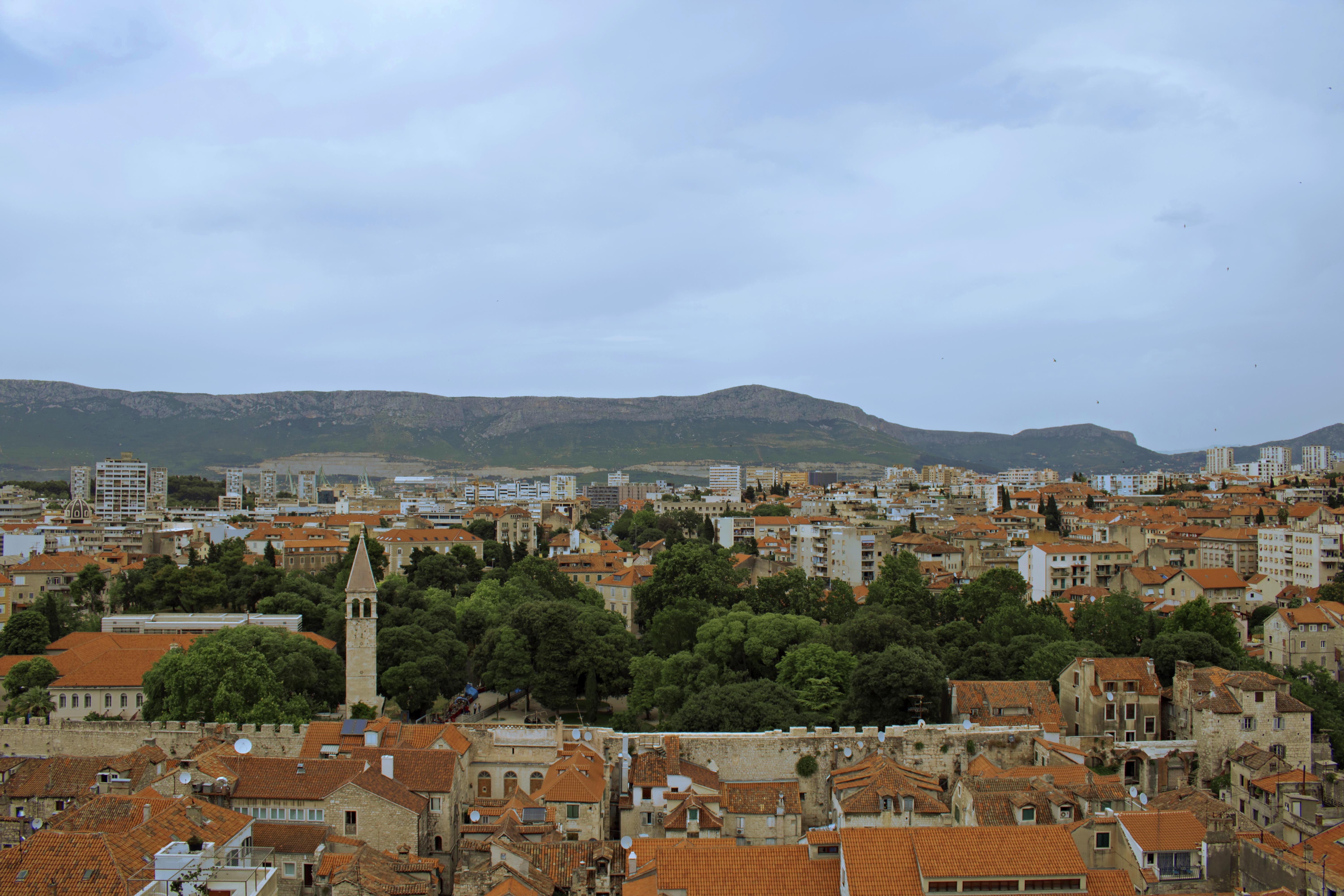 Views from Bell Tower of St.Domnius Cathedral
