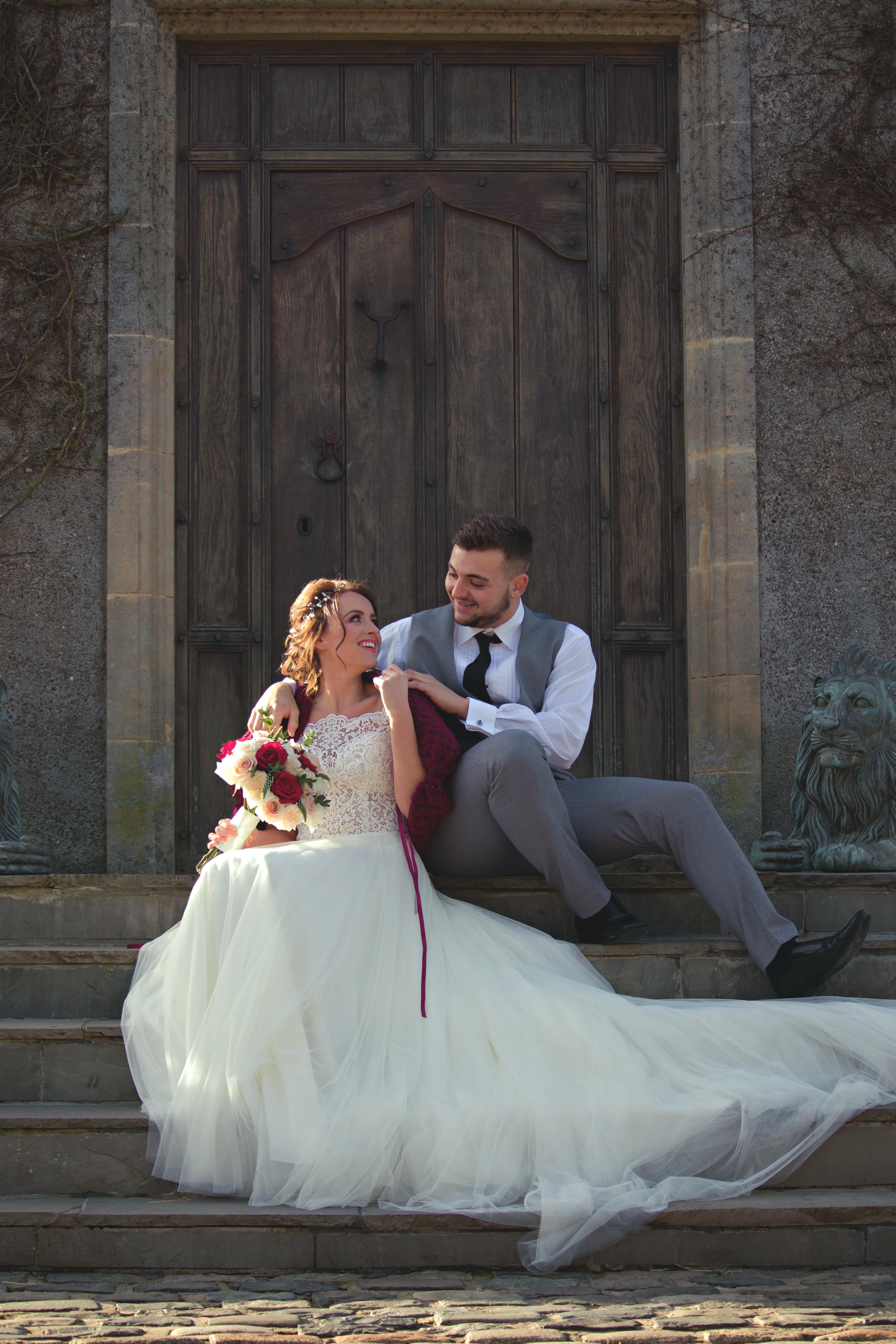 Romantic Couple Portraits at Walton Castle