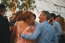Relaxed Dancing Shots Summer Wedding in Surrey