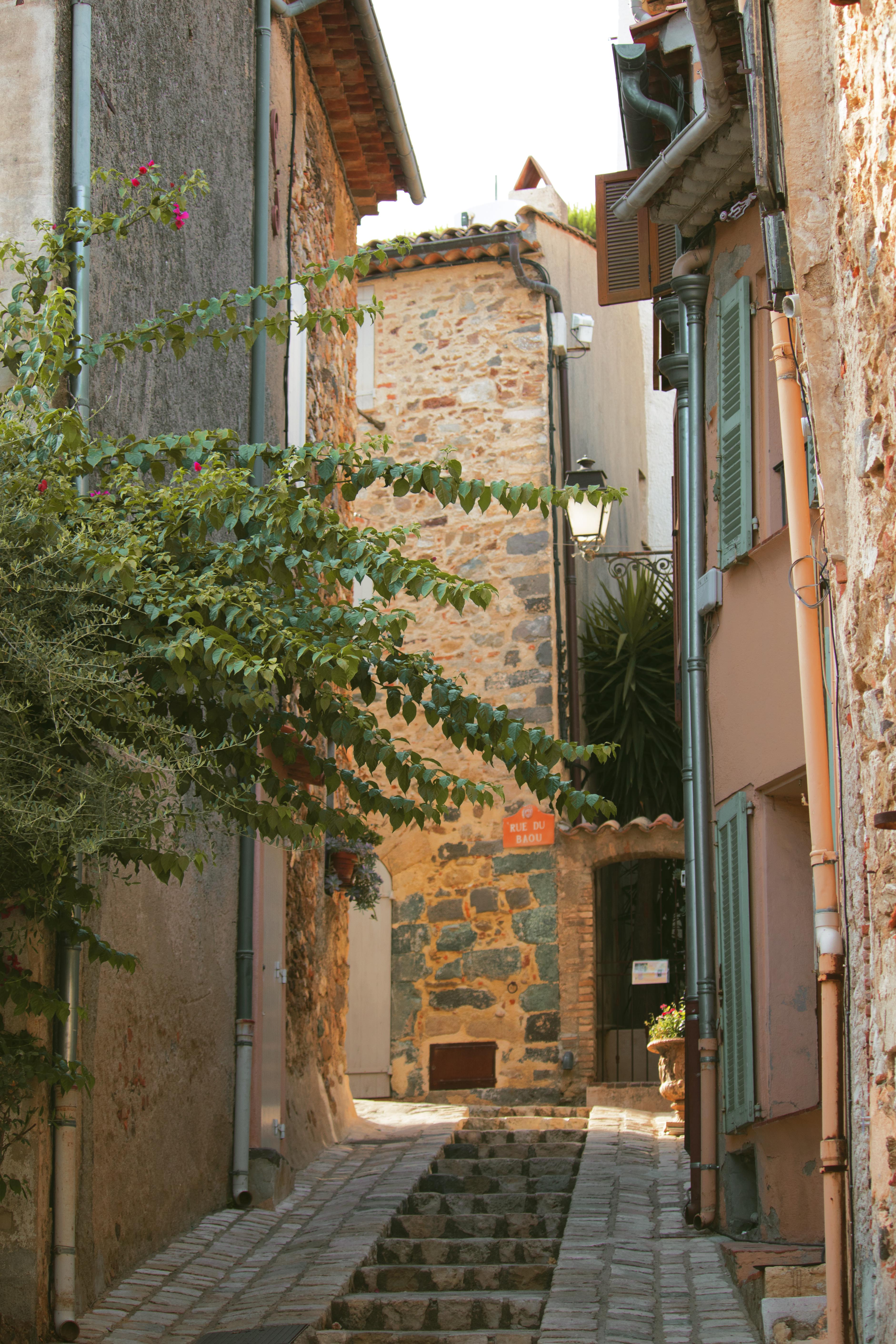 Beautiful Town in Cote d'Azure
