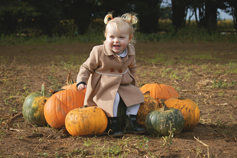 Pumpkin Family Shoot in Surrey