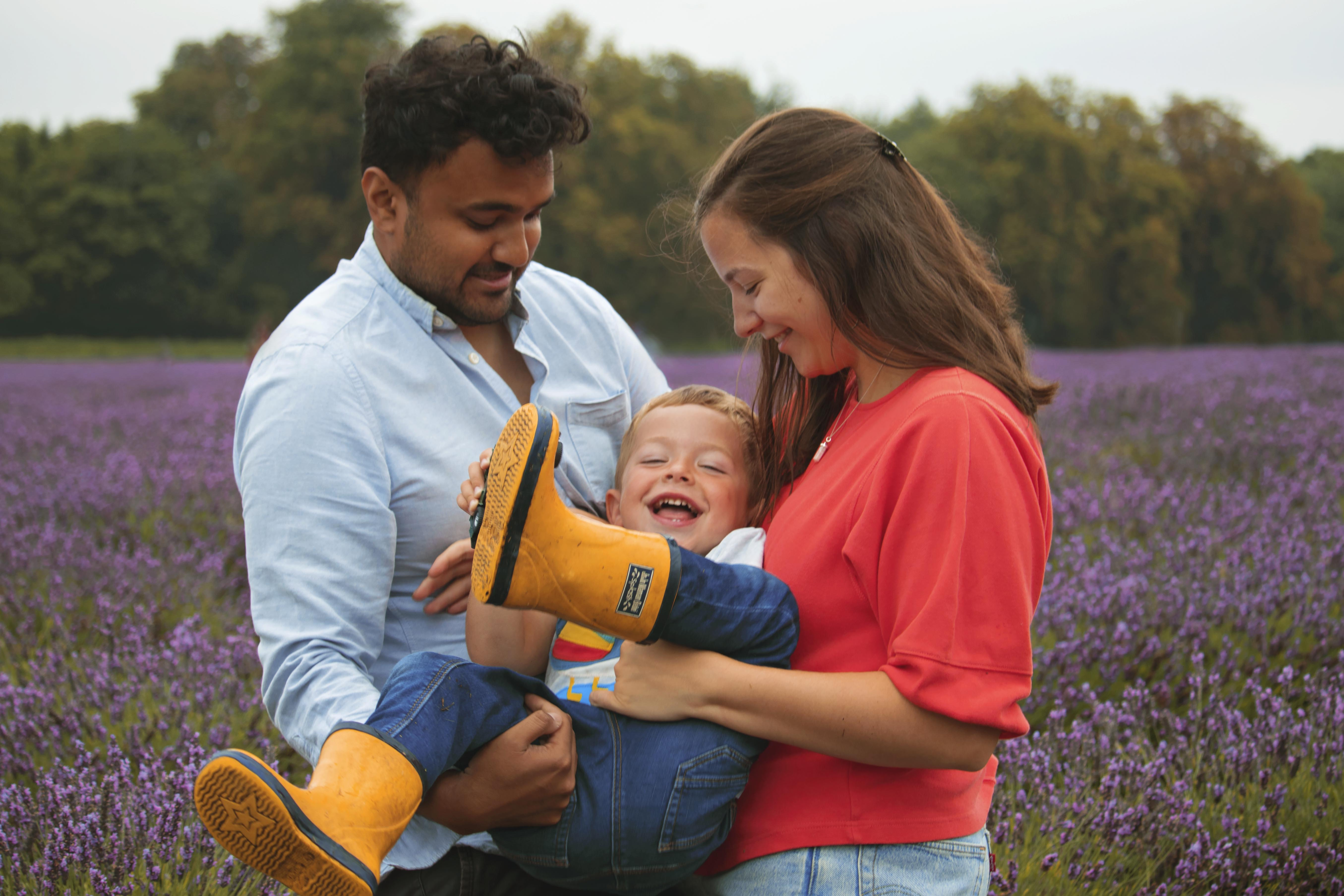 Mayfield Lavender Family Photoshoot