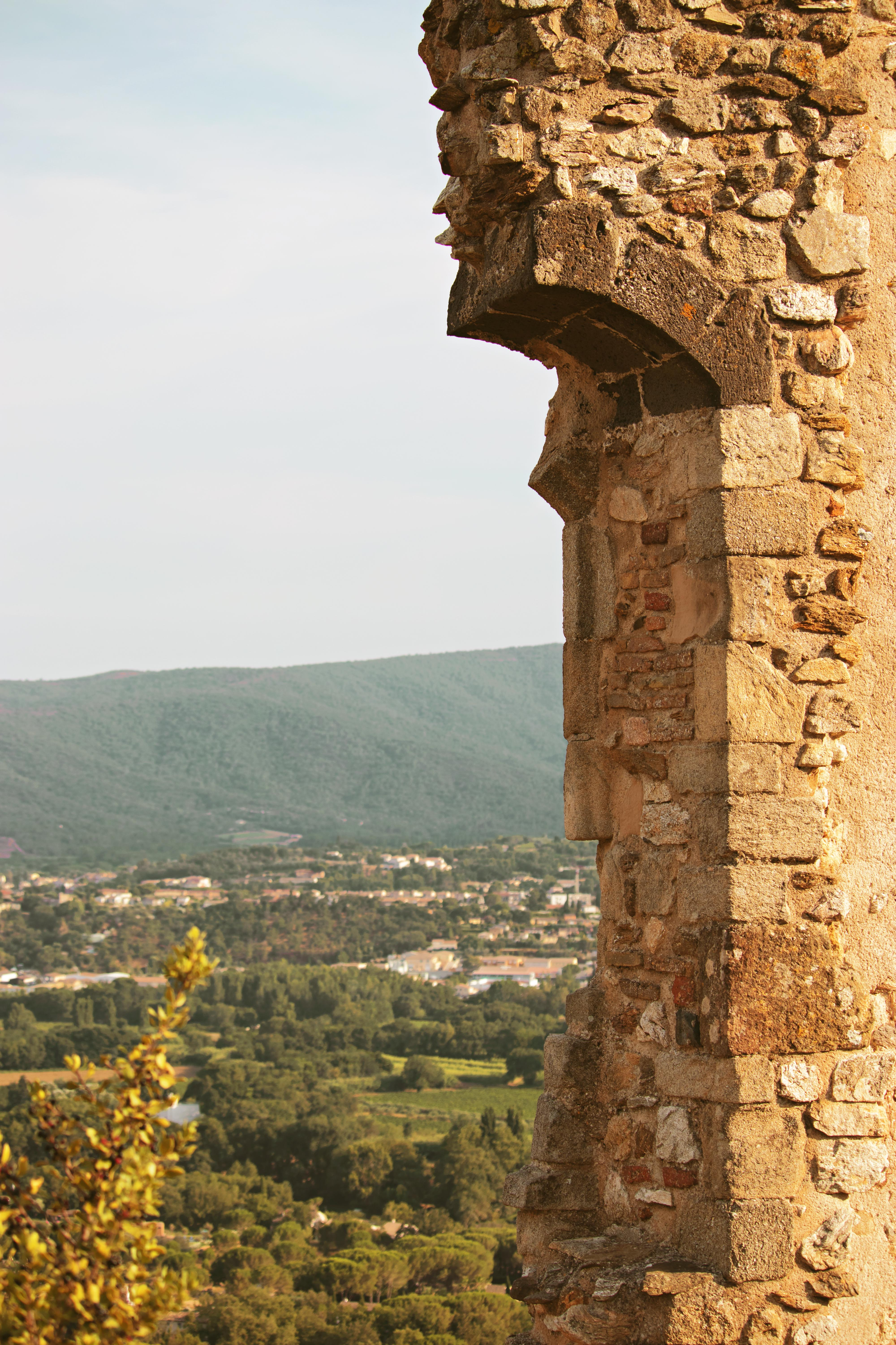 Castle Ruins in Grimaud South of France