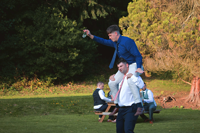 Funny Wedding Guest Shots Summer Wedding