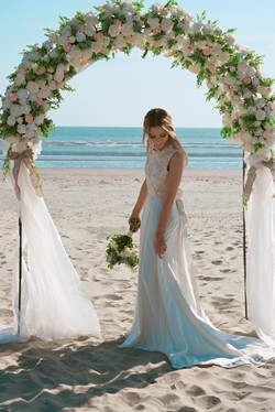 Beach Bride Portraits