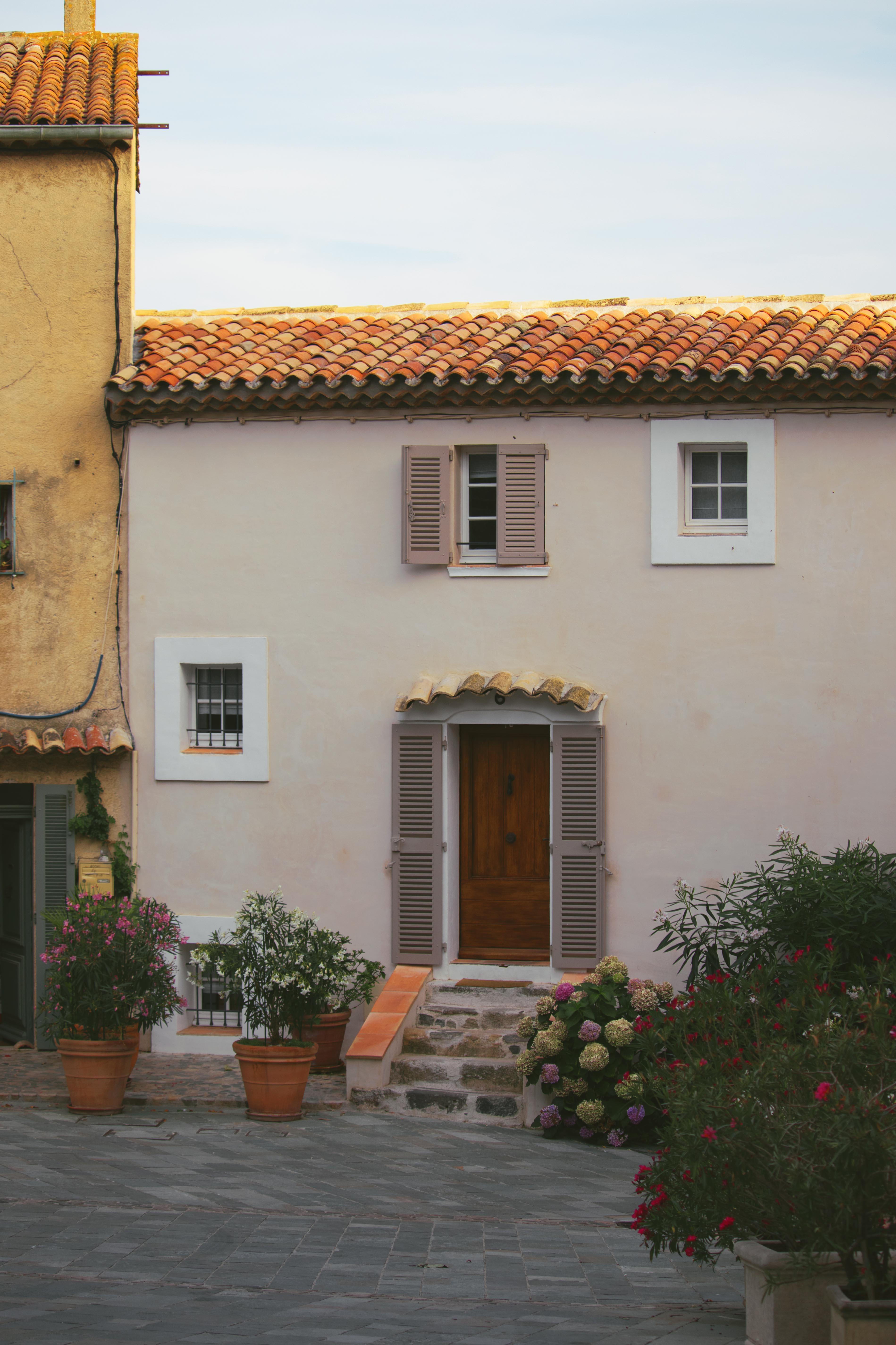 Quaint Little Town South of France