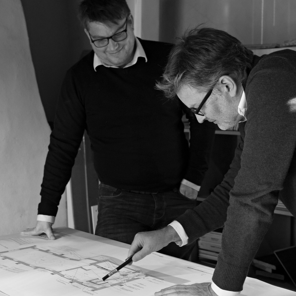 Behind the Scenes Architectual Firm