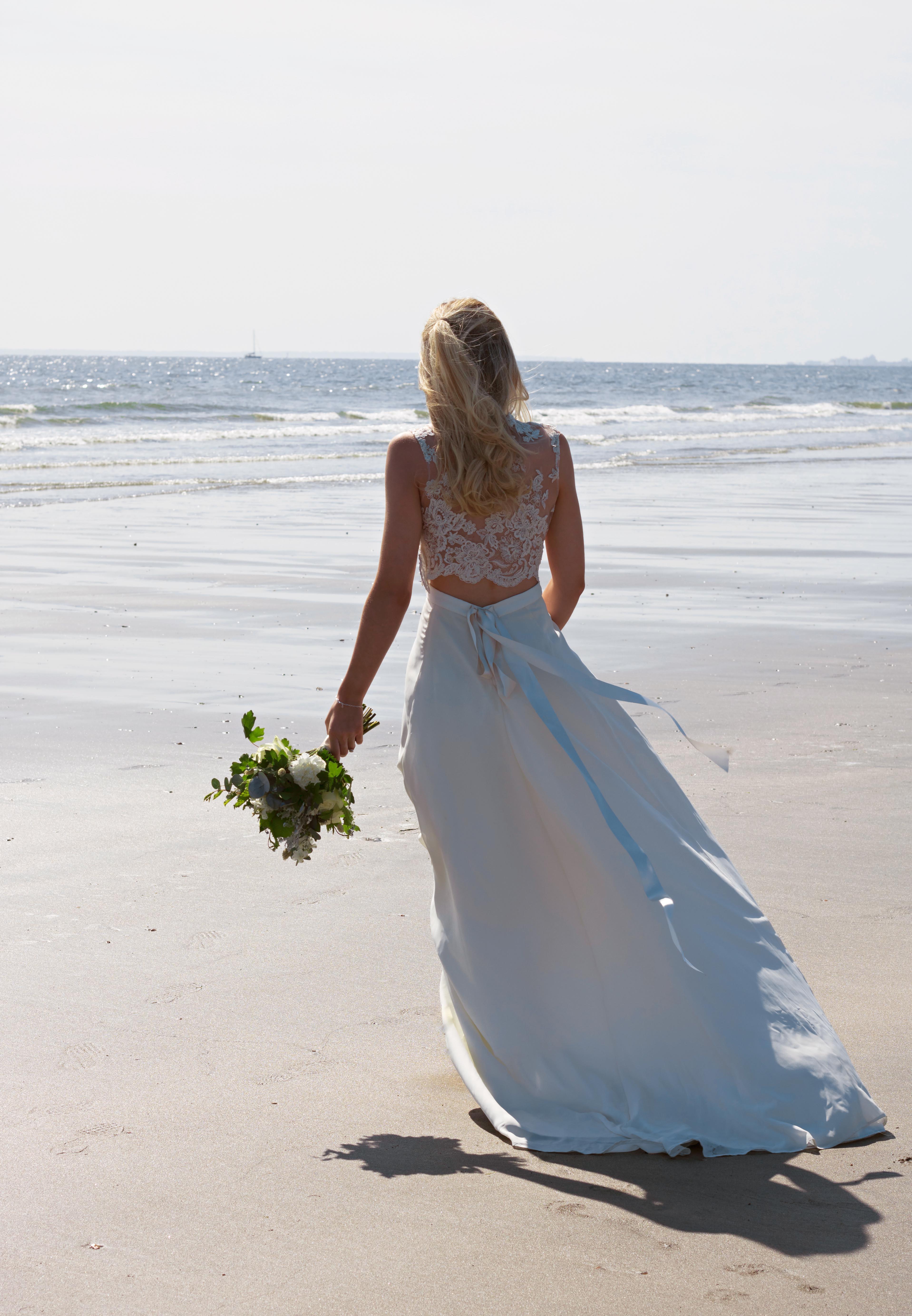 Beach Bride Beach Wedding Photography