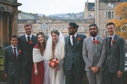 Group Shots Autmnal Wedding