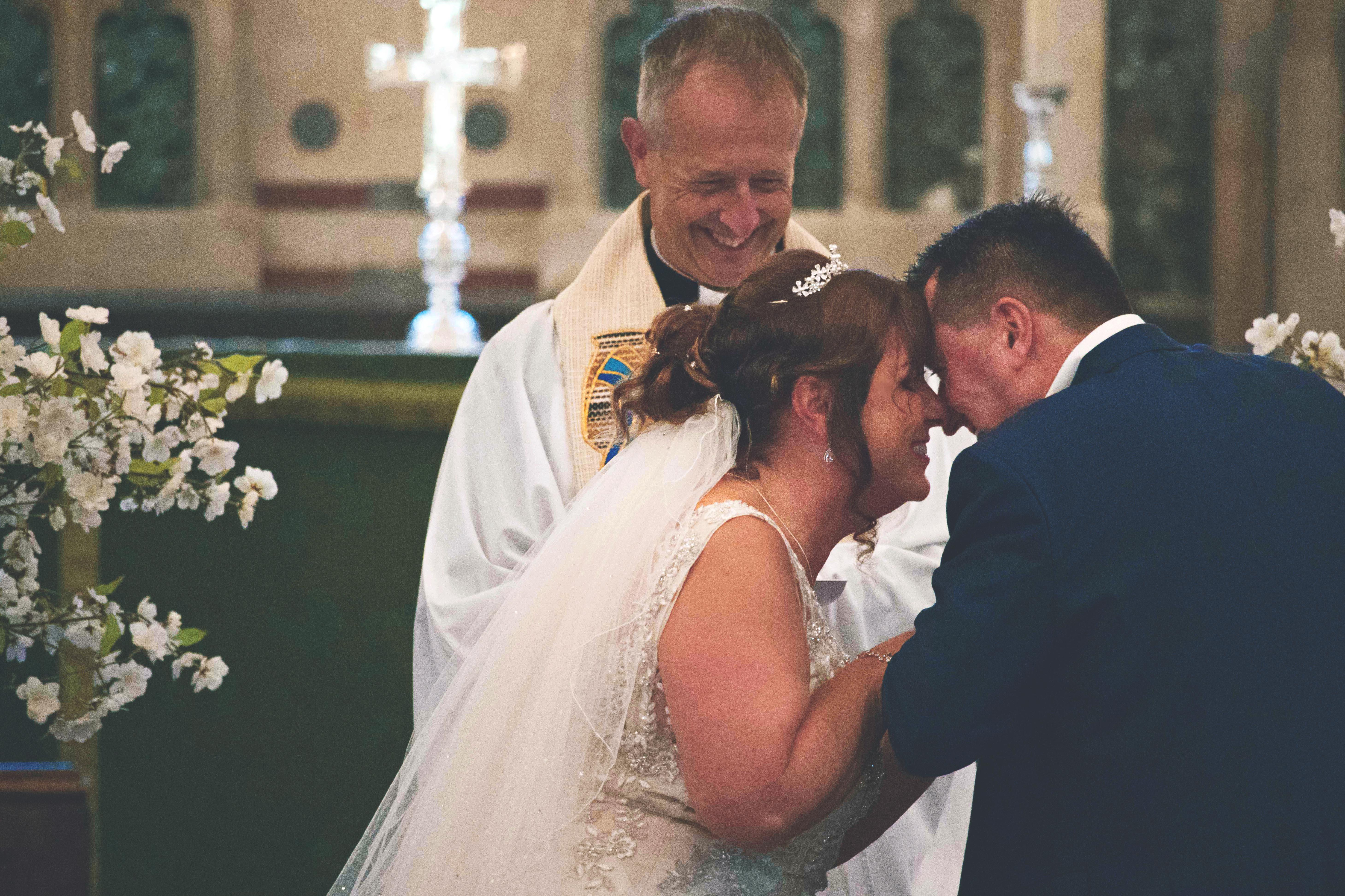Surrey Church Wedding Portraits