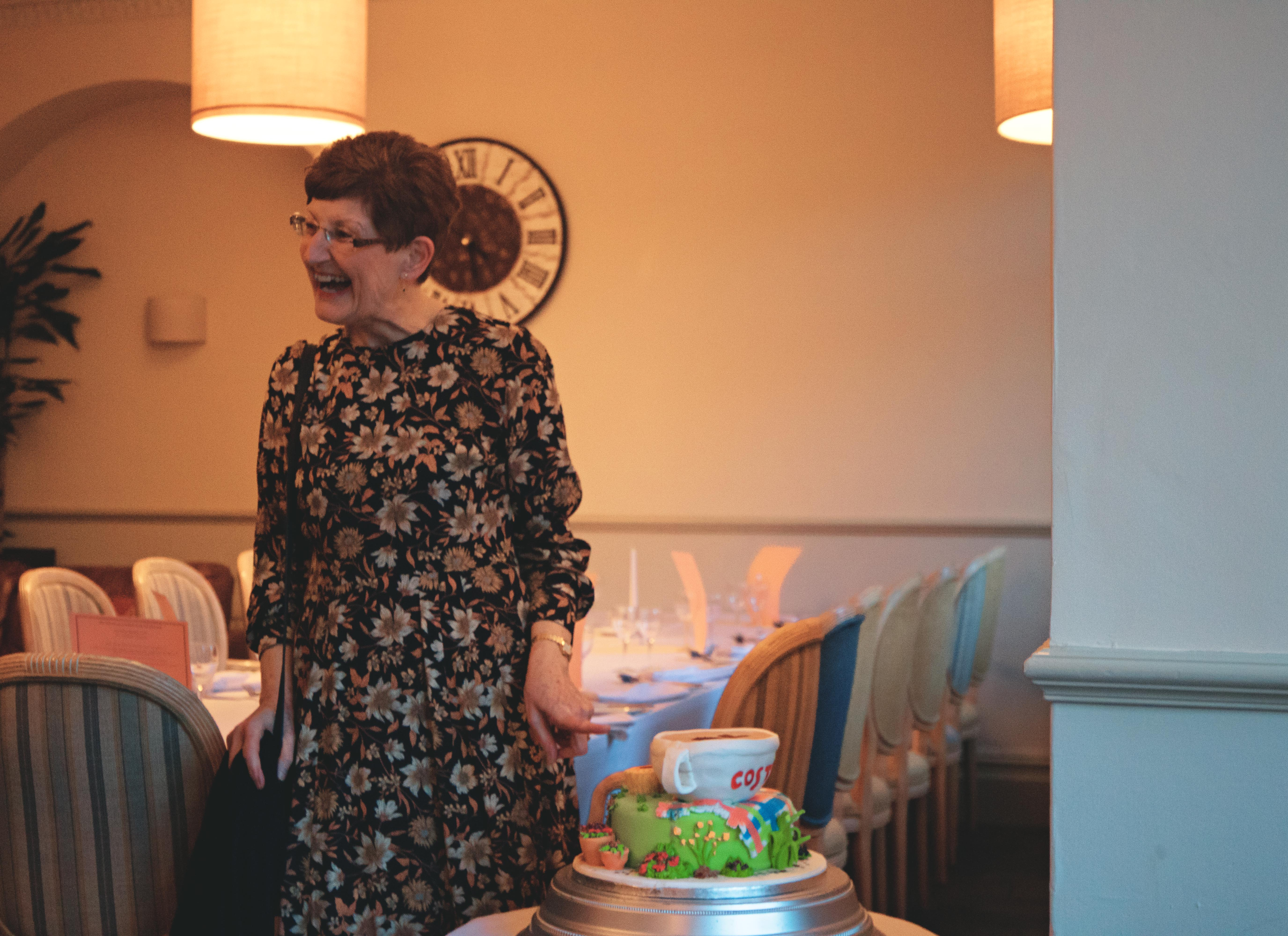 70th Birthday Cake at Walton Park Hotel