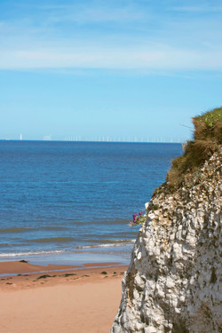 White Cliff Costal View