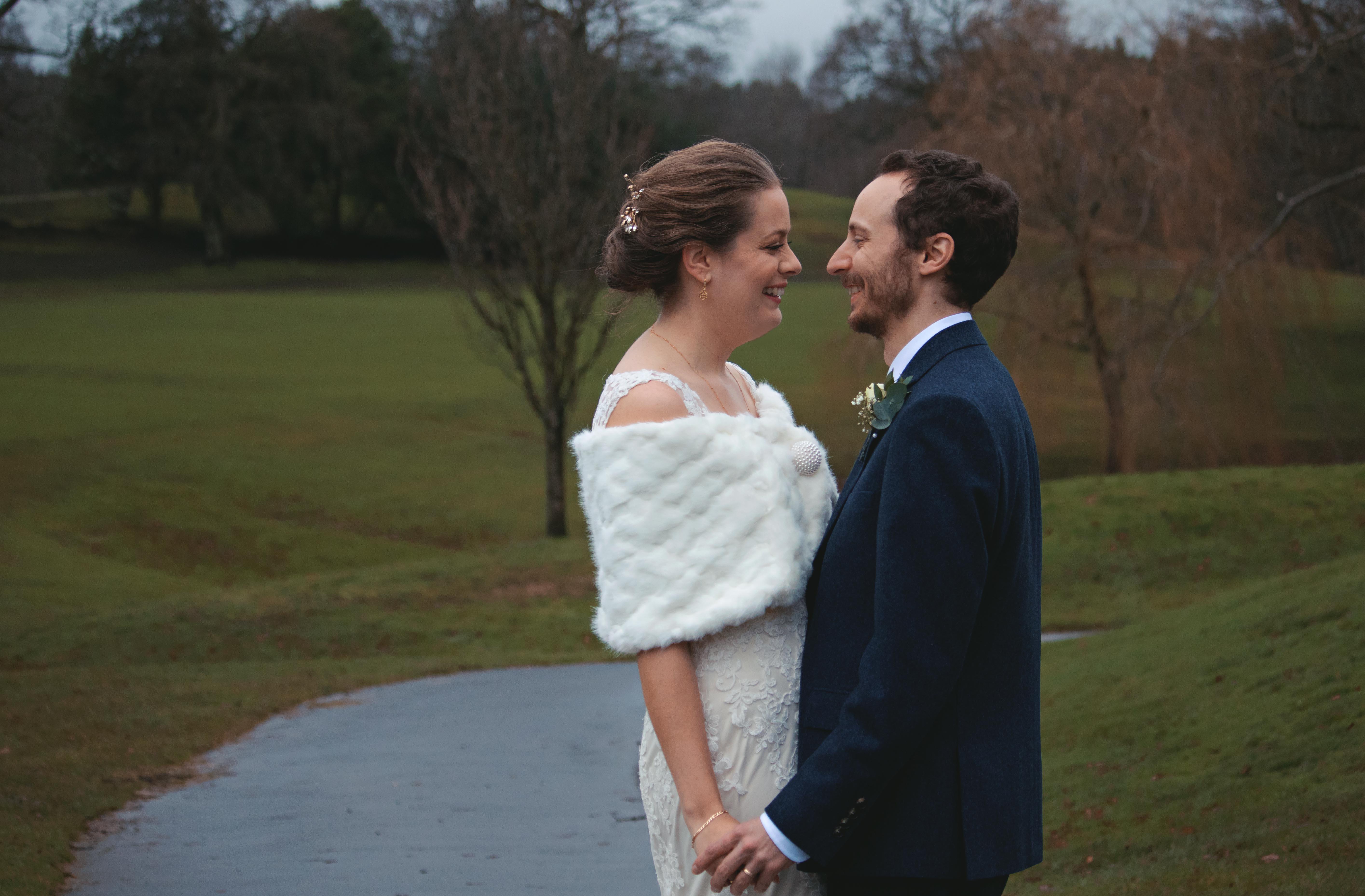 Winter Wedding in Surrey