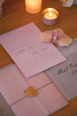 Merrie & Bright Wedding Stationery