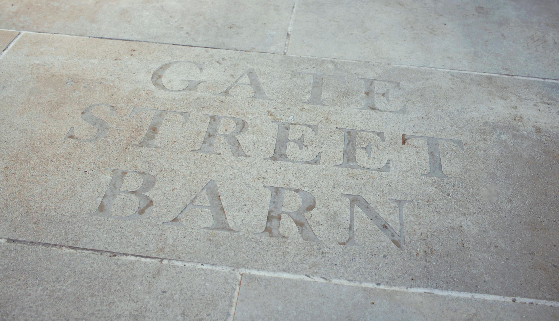 Gate Street Barn Sign