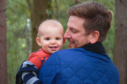 Father & Son Portraits at Horsell Common