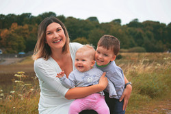 Relaxed Family Portraits in Somerset