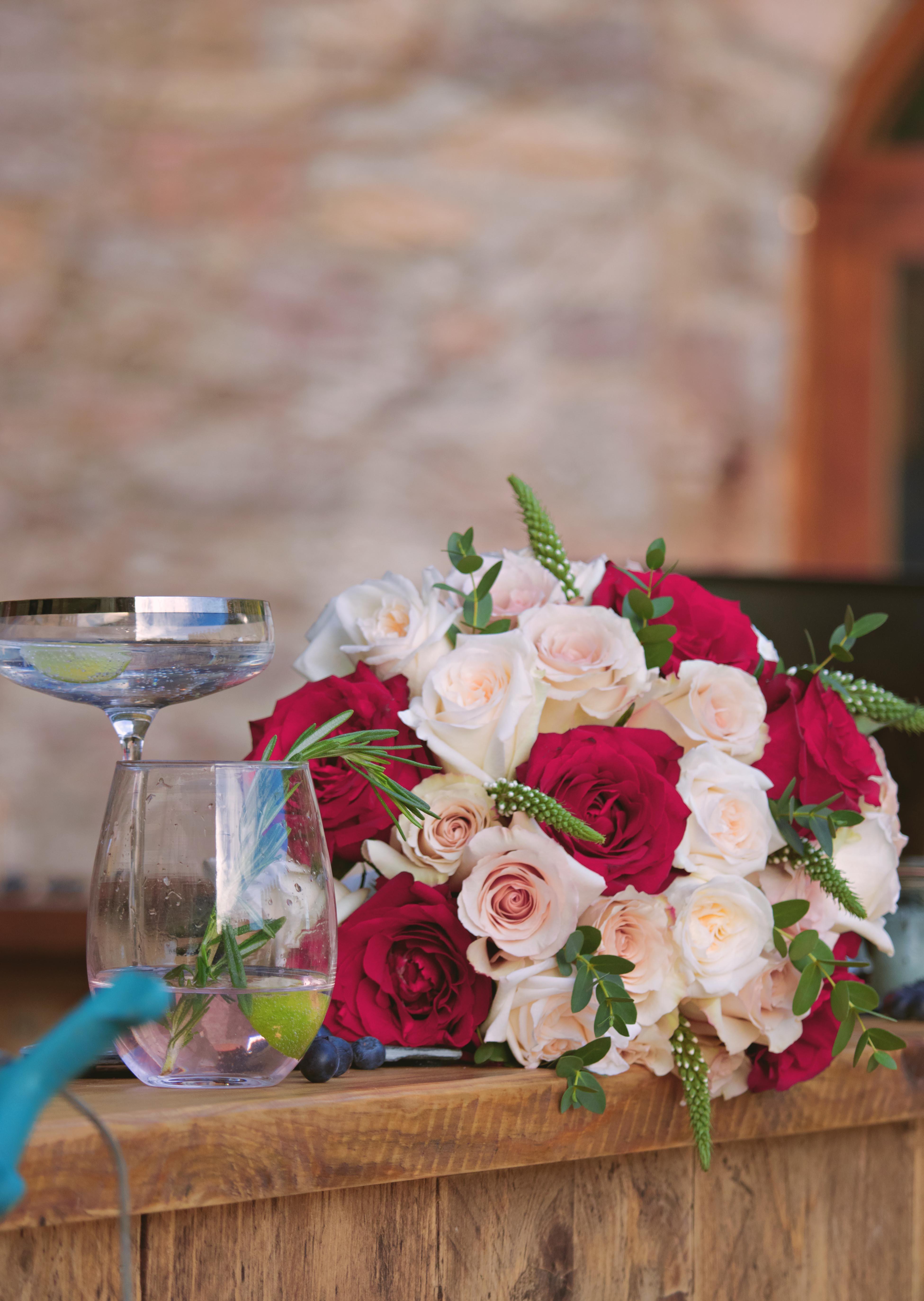 Fairy-Tale Winter Wedding Bouquet