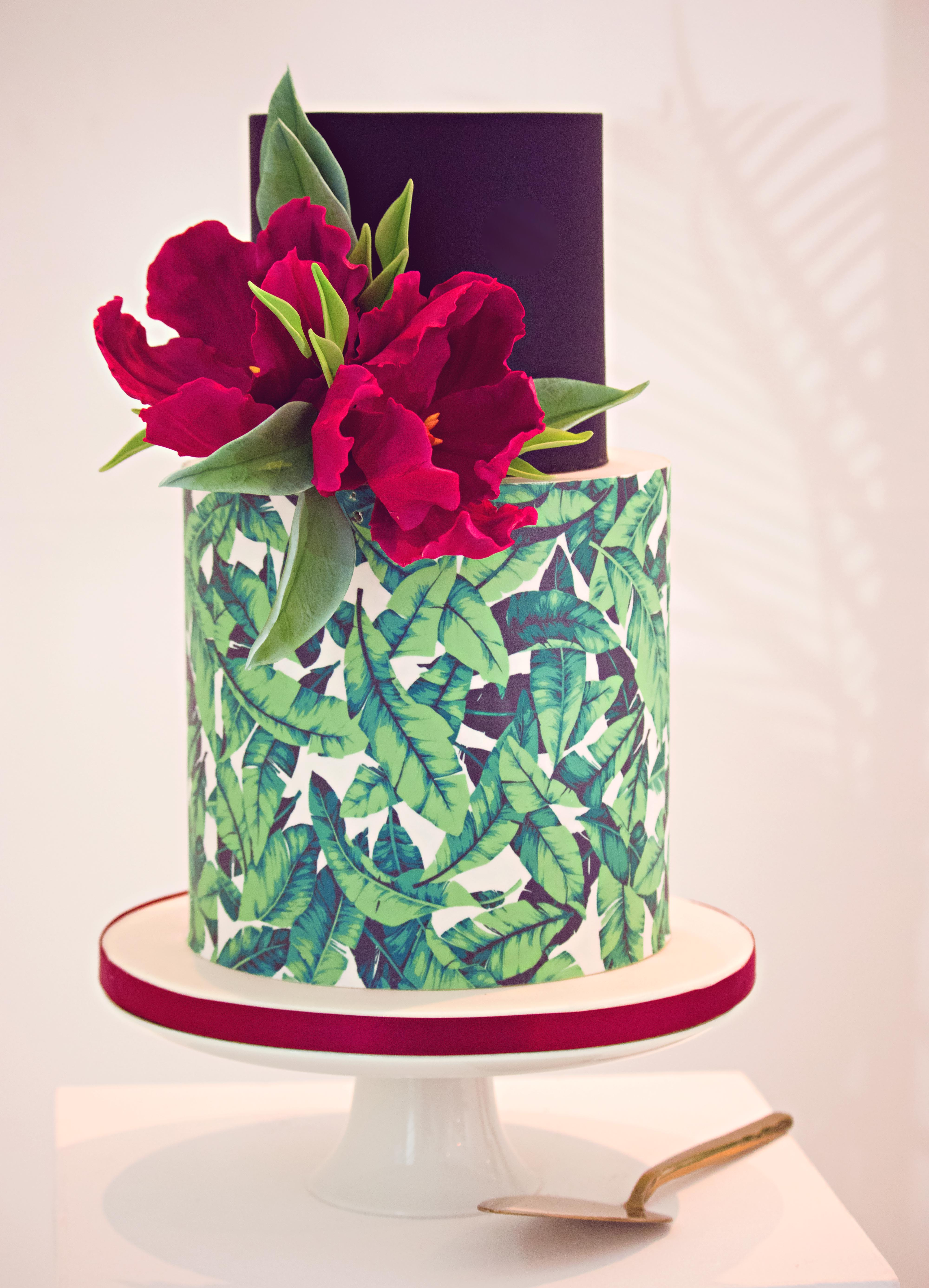 Stylised Wedding Cake Shoot
