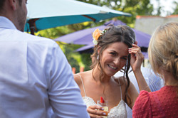 Relaxed Bridal Portraits, Summertime Wedding