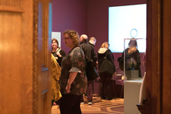 Guest at Art Gallery Event Photography