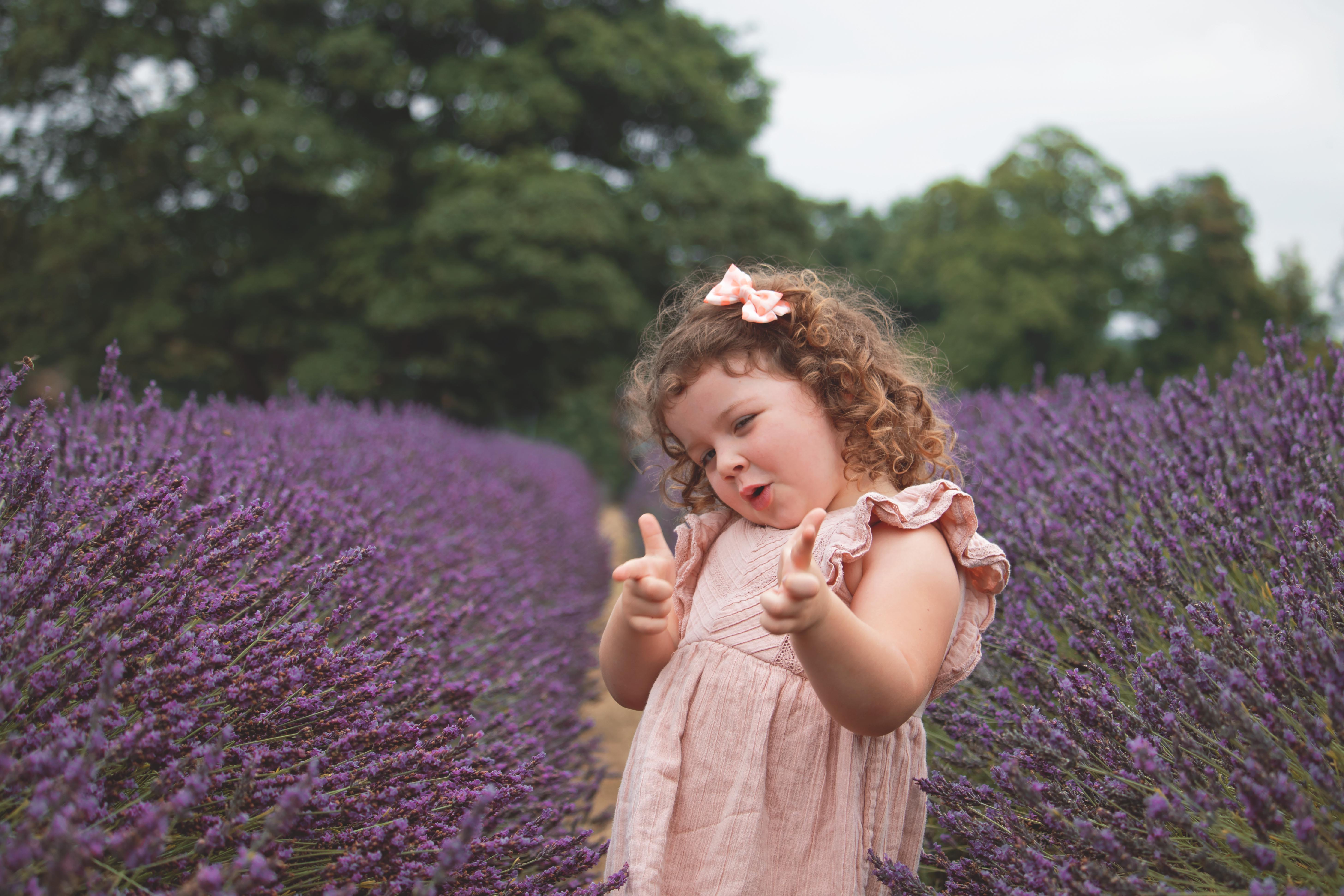 Family Portraits at the Lavender Fields