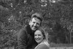 Relaxed Couple Portraits in Surrey