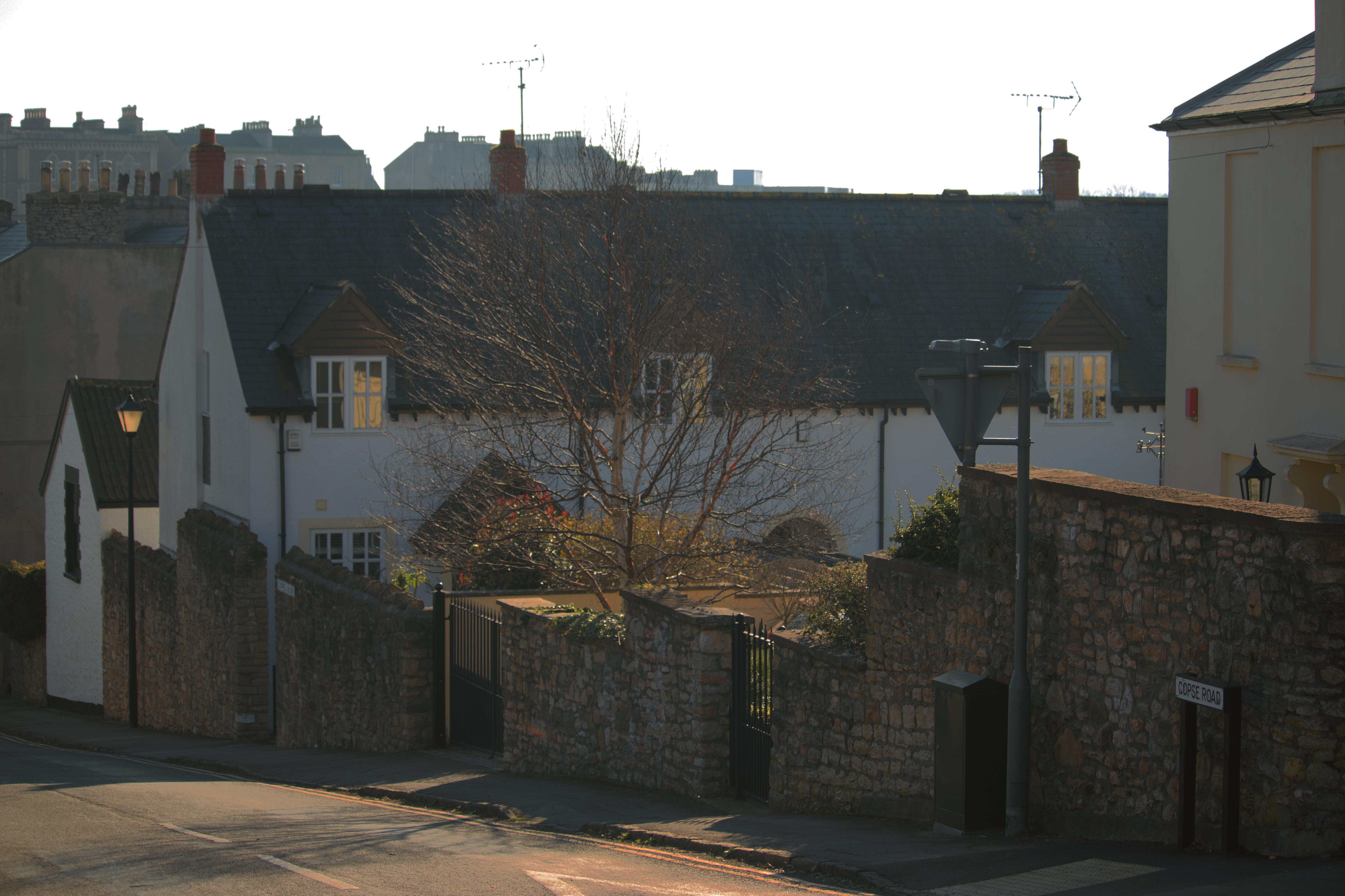 Residential Road in Clevedon