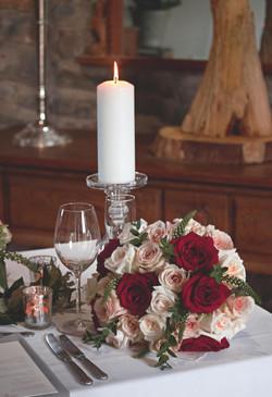 Romantic Winter Wedding Table