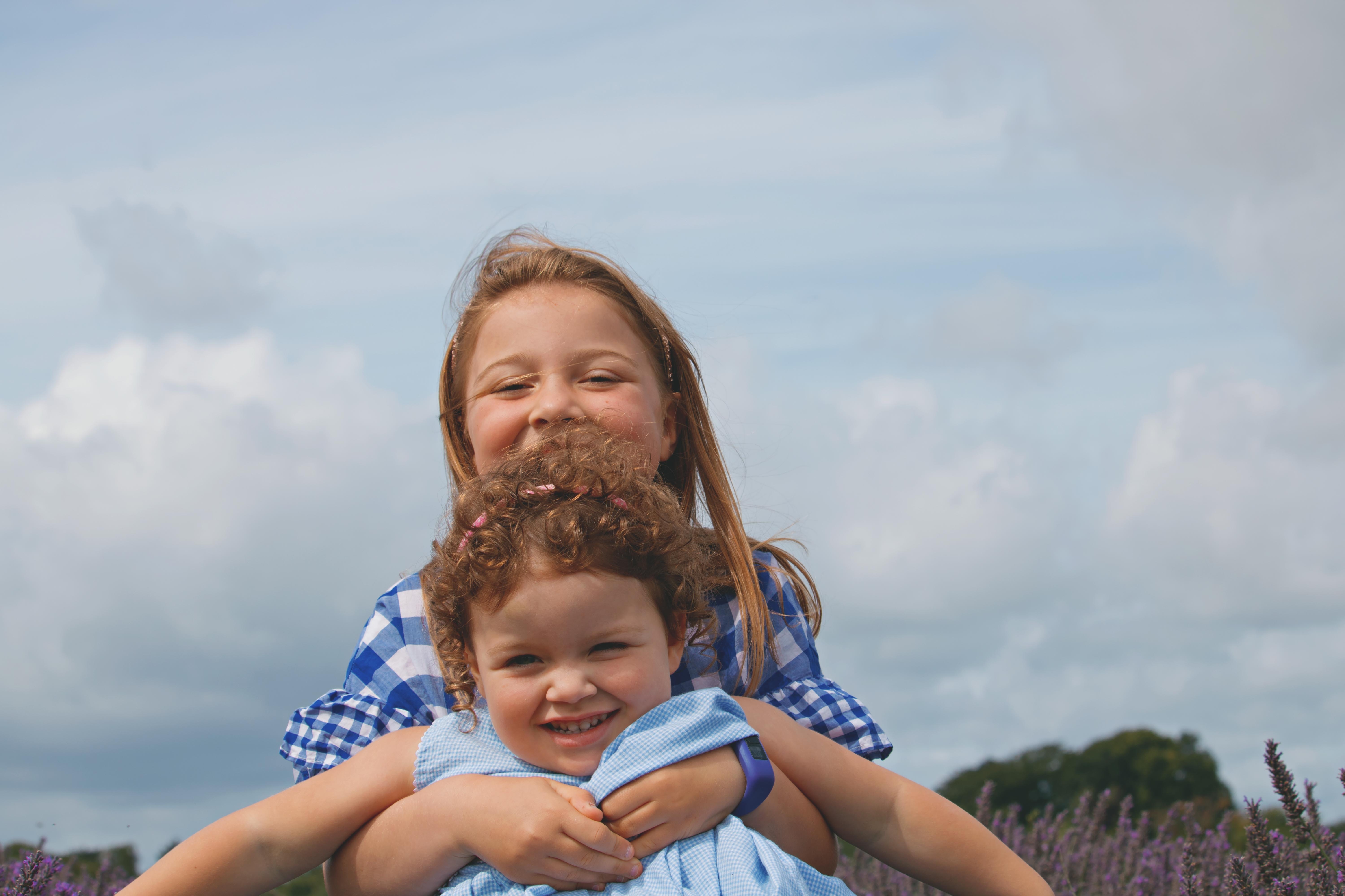 Relaxed Family Photography at Mayfield Lavender