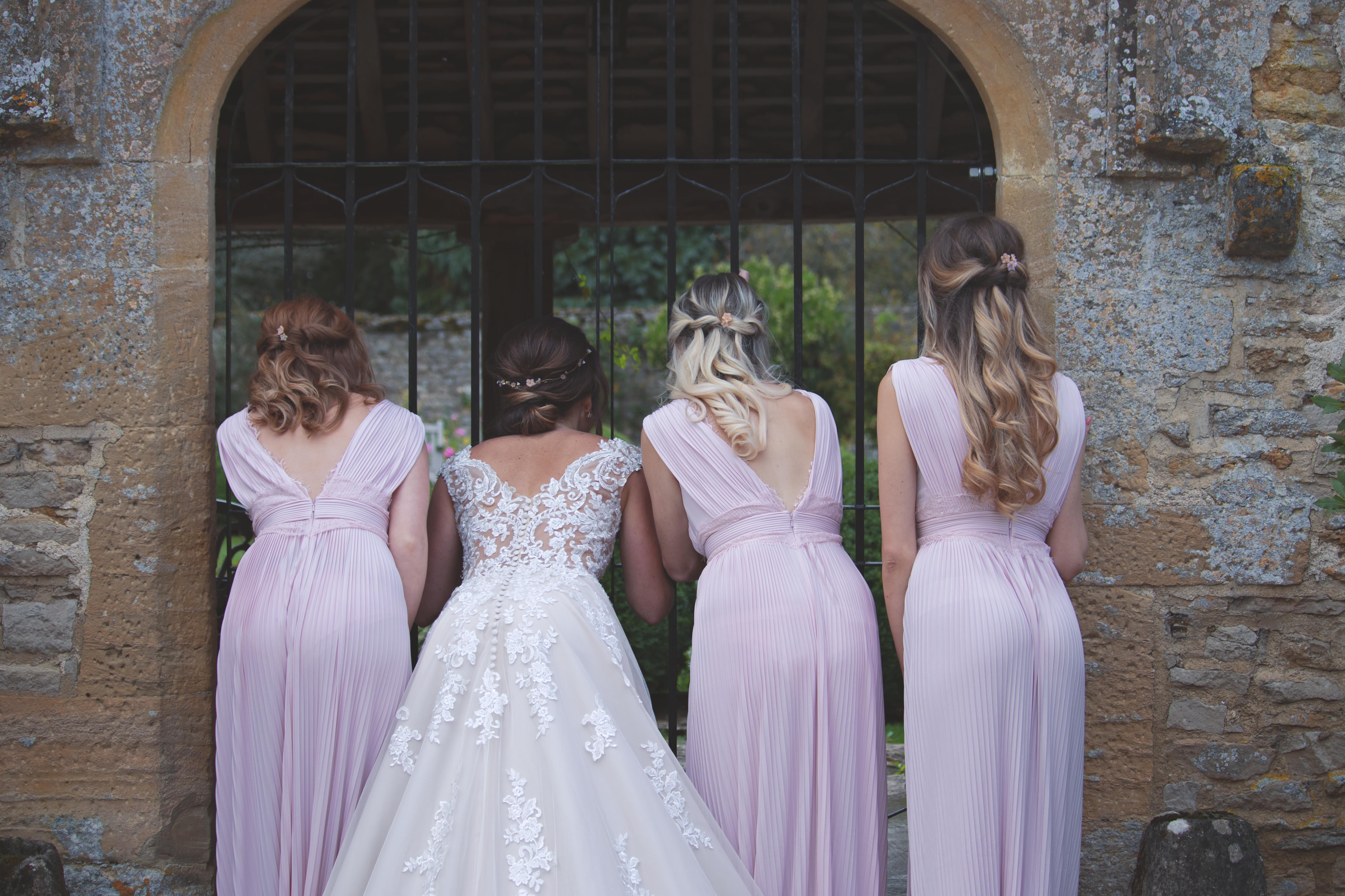 Sweet Shots of Bride and Bridesmaids