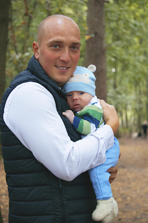 Father & Son Portrait