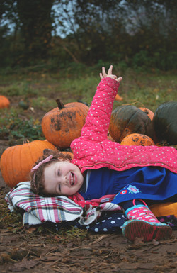 Family Mini Session with the Pumpkins