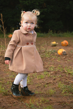 Beautiful Nellie at the Pumpkins