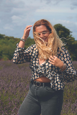 Personal Branding Shoot in the Lavender