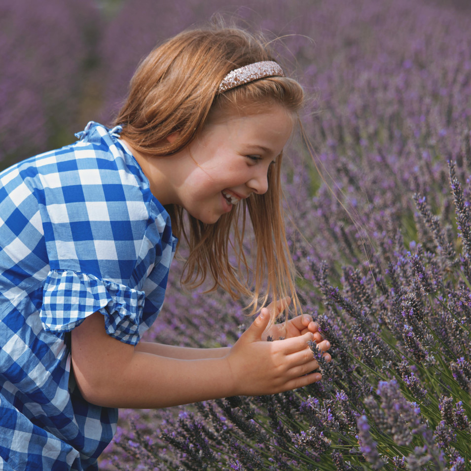 Family Photography at the Lavender Fields in Surrey