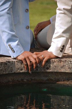 Wedding Couple Shots Jewellery Details