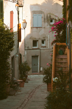Picturesque Town in South of France
